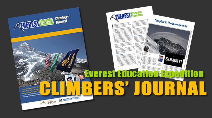 Relive the adventures in the Climbers' Journal.