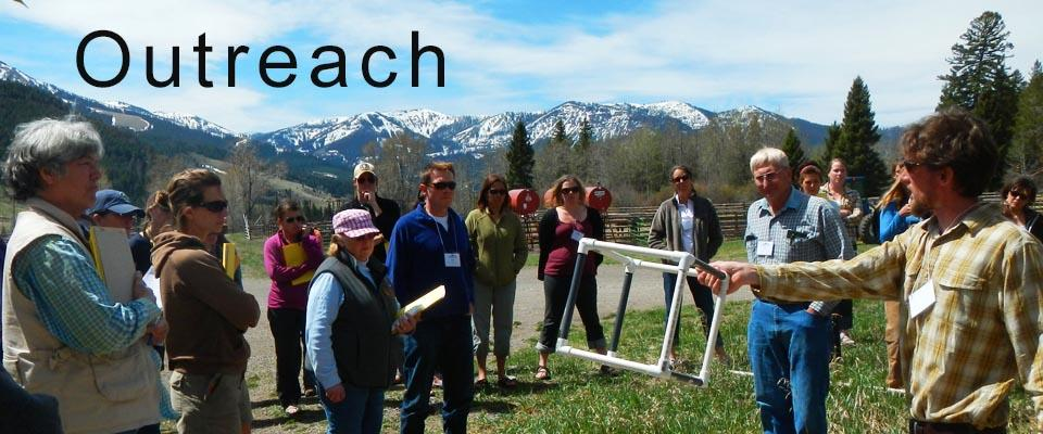 Watershed 101 Training at the B Bar Ranch